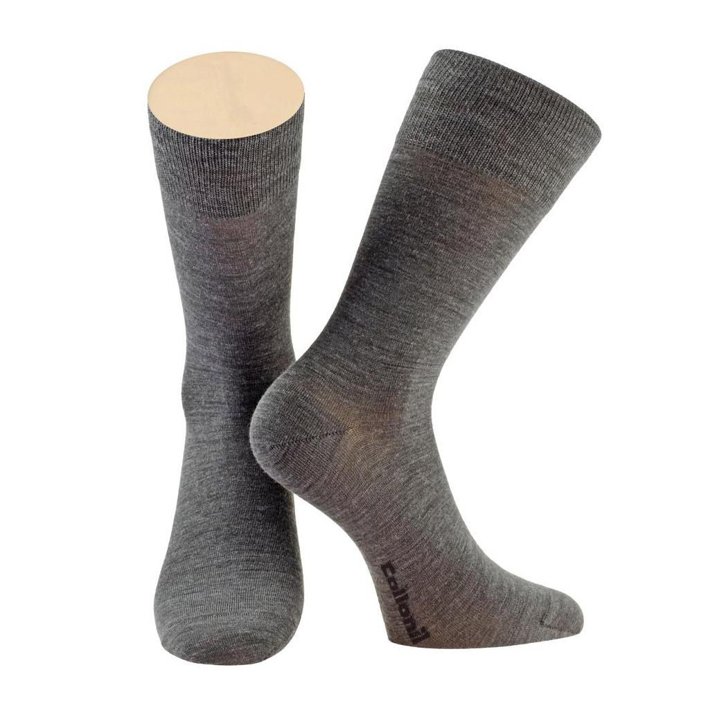 Носки мужские Collonil CLASSIC теплые 39-41 темно-серые