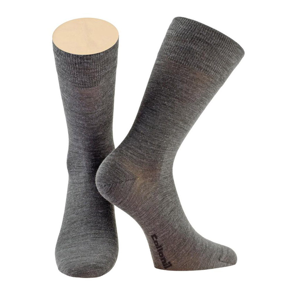 Носки мужские Collonil CLASSIC теплые 44-46 темно-серые
