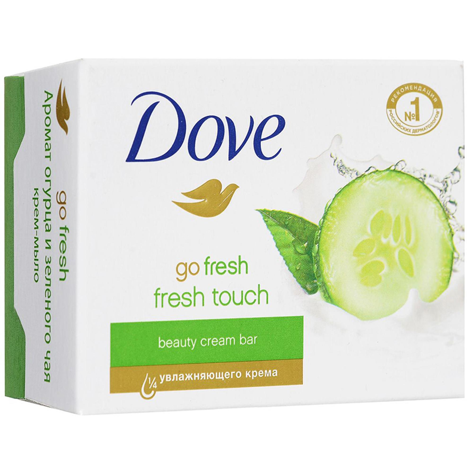 Крем-мыло Dove Прикосновение свежести 100 г