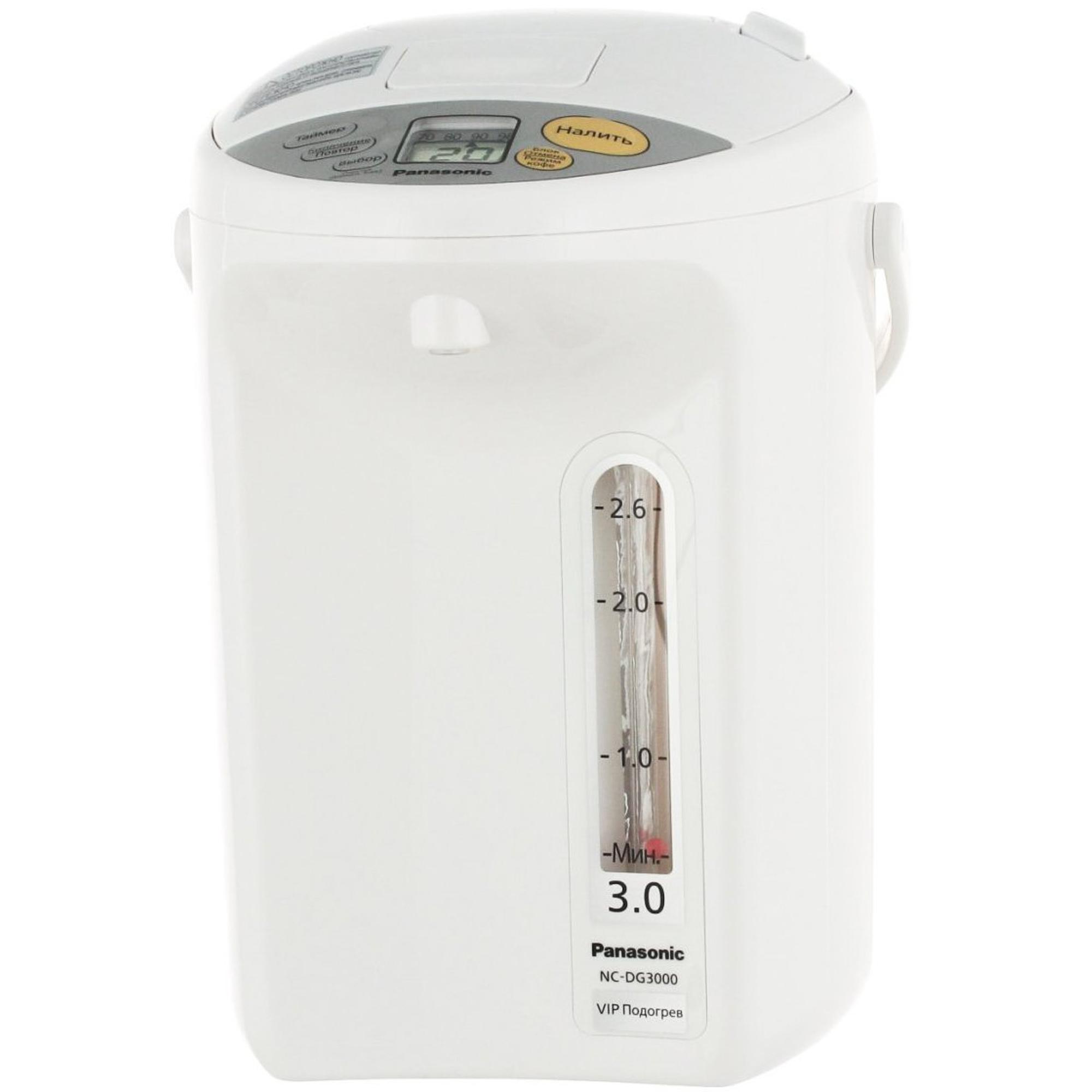 Термопот Panasonic NC-DG3000WTS Белый термопот panasonic nc eg4000wts