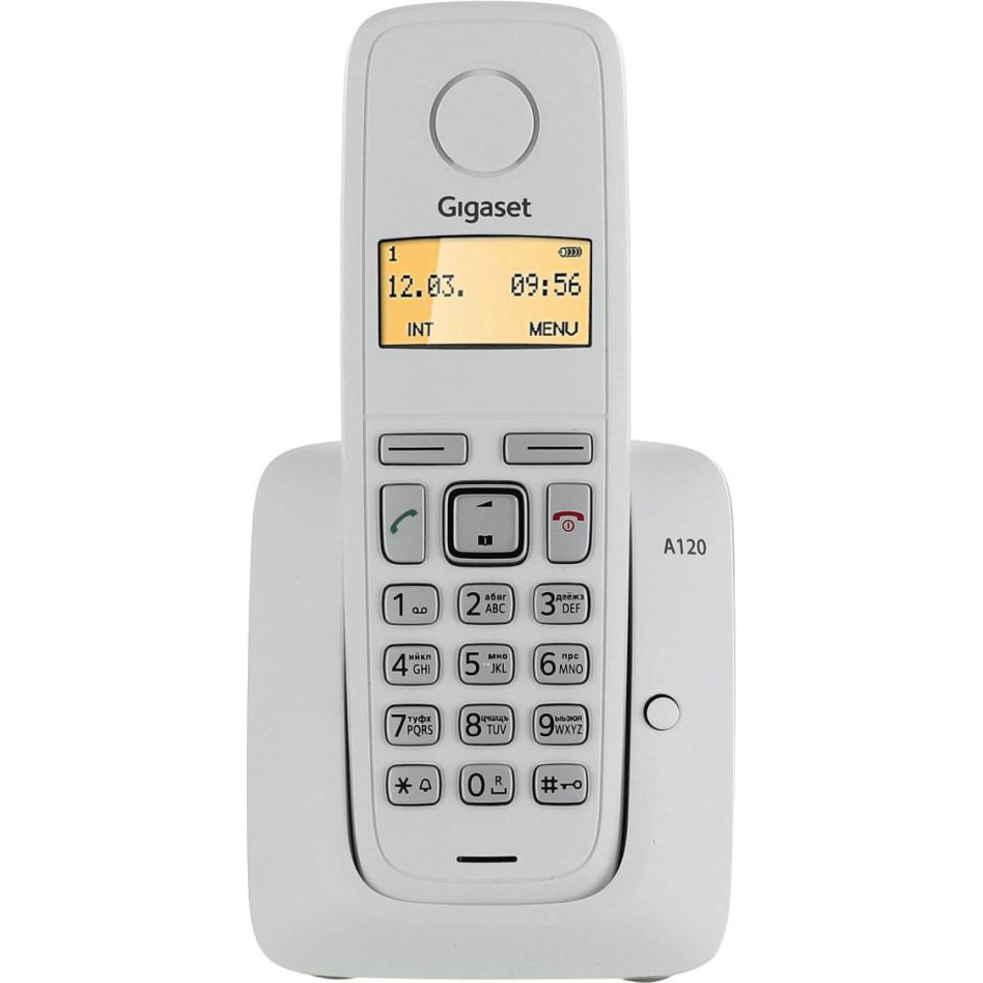 Фото - Стационарный телефон Gigaset А120 White стационарный телефон