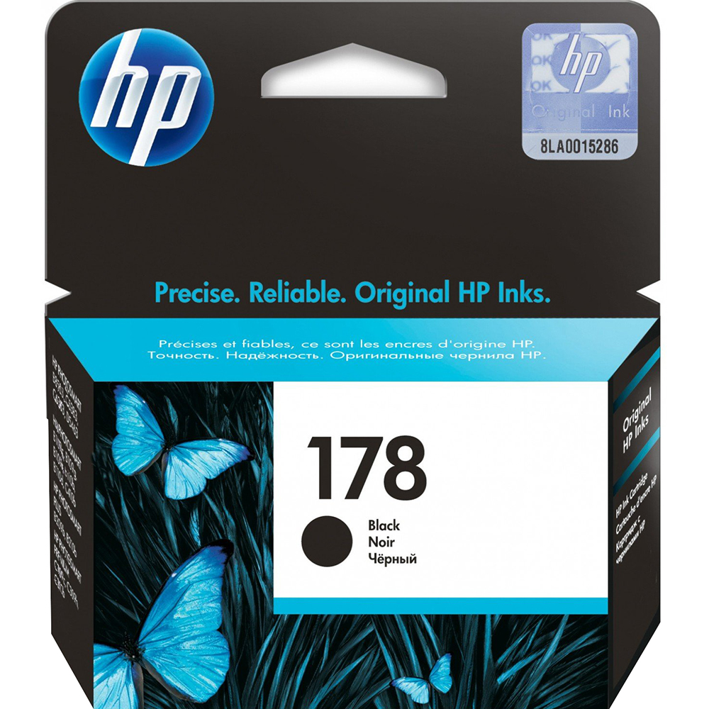 Фото - Картридж HP 178 (CB316HE) Black картридж hp f9j53a