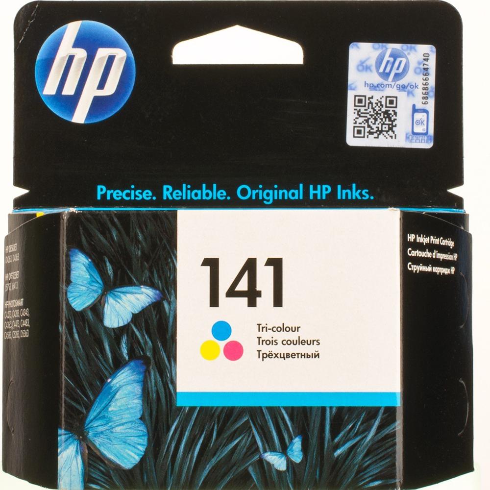 Фото - Картридж HP 141 (CB337HE) Tri-color картридж hp 652 f6v24ae tri color