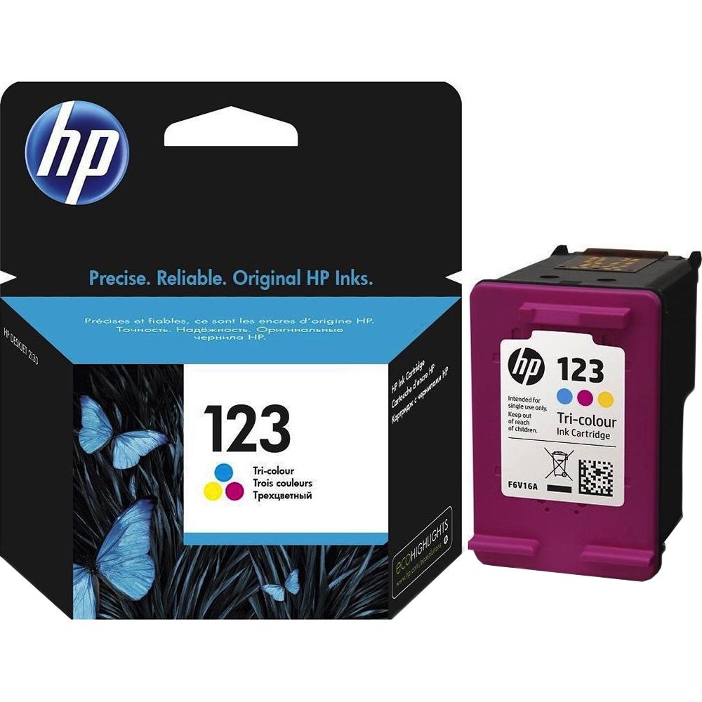 Фото - Картридж HP 123 (F6V16AE) Tri-color картридж hp 652 f6v24ae tri color