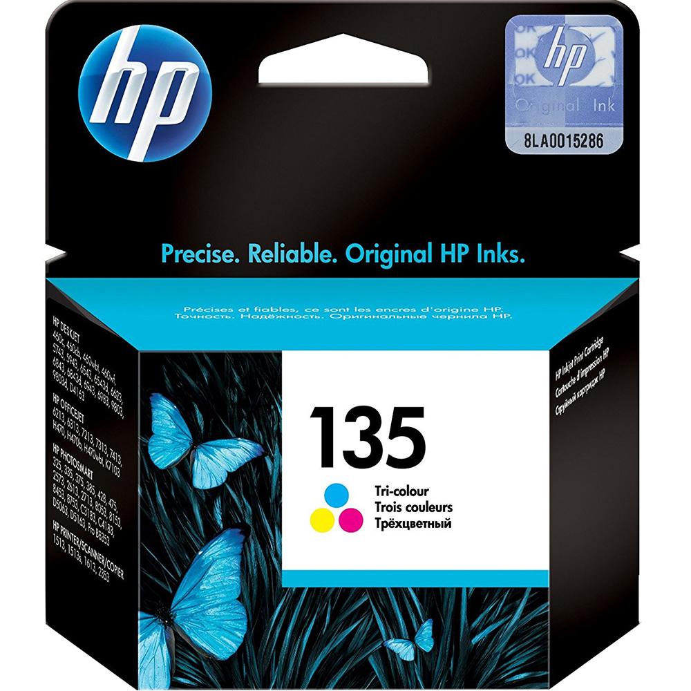 Фото - Картридж HP 135 (C8766HE) Tri-color чернила краска для заправки принтера hp deskjet 6843 набор оптима