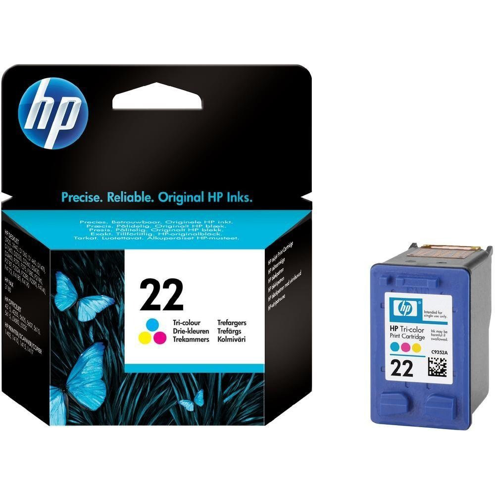 Фото - Картридж HP 22 (C9352AE) Tri-color картридж hp 652 f6v24ae tri color