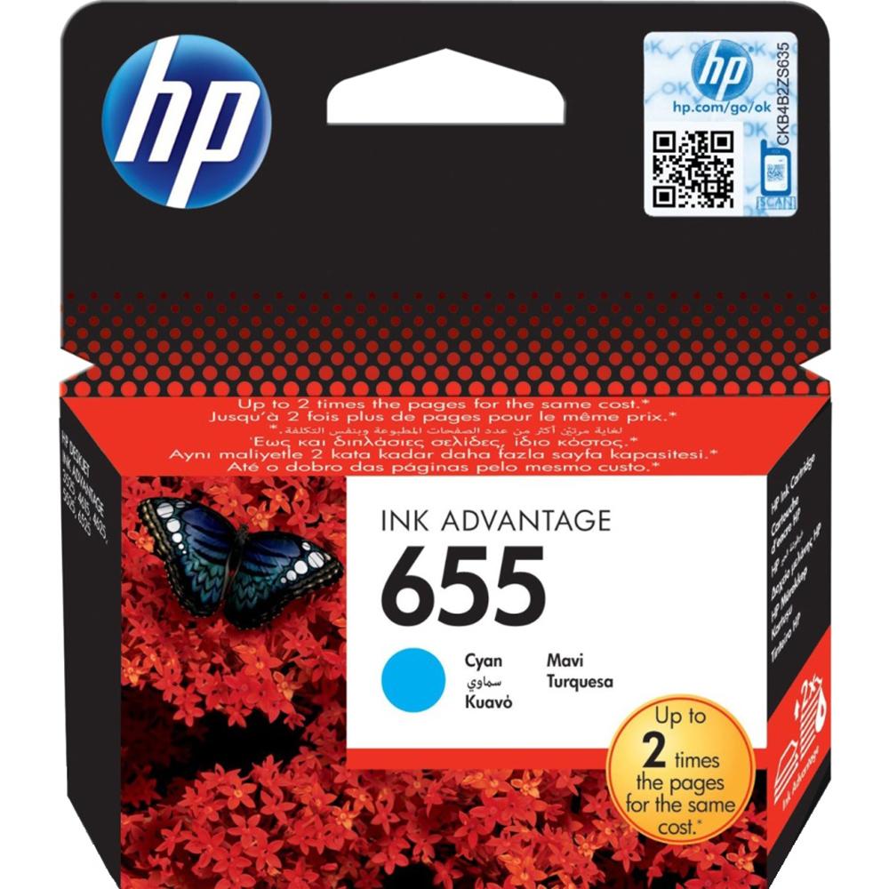 Фото - Картридж HP 655 (CZ110AE) Cyan картридж hp q6471a