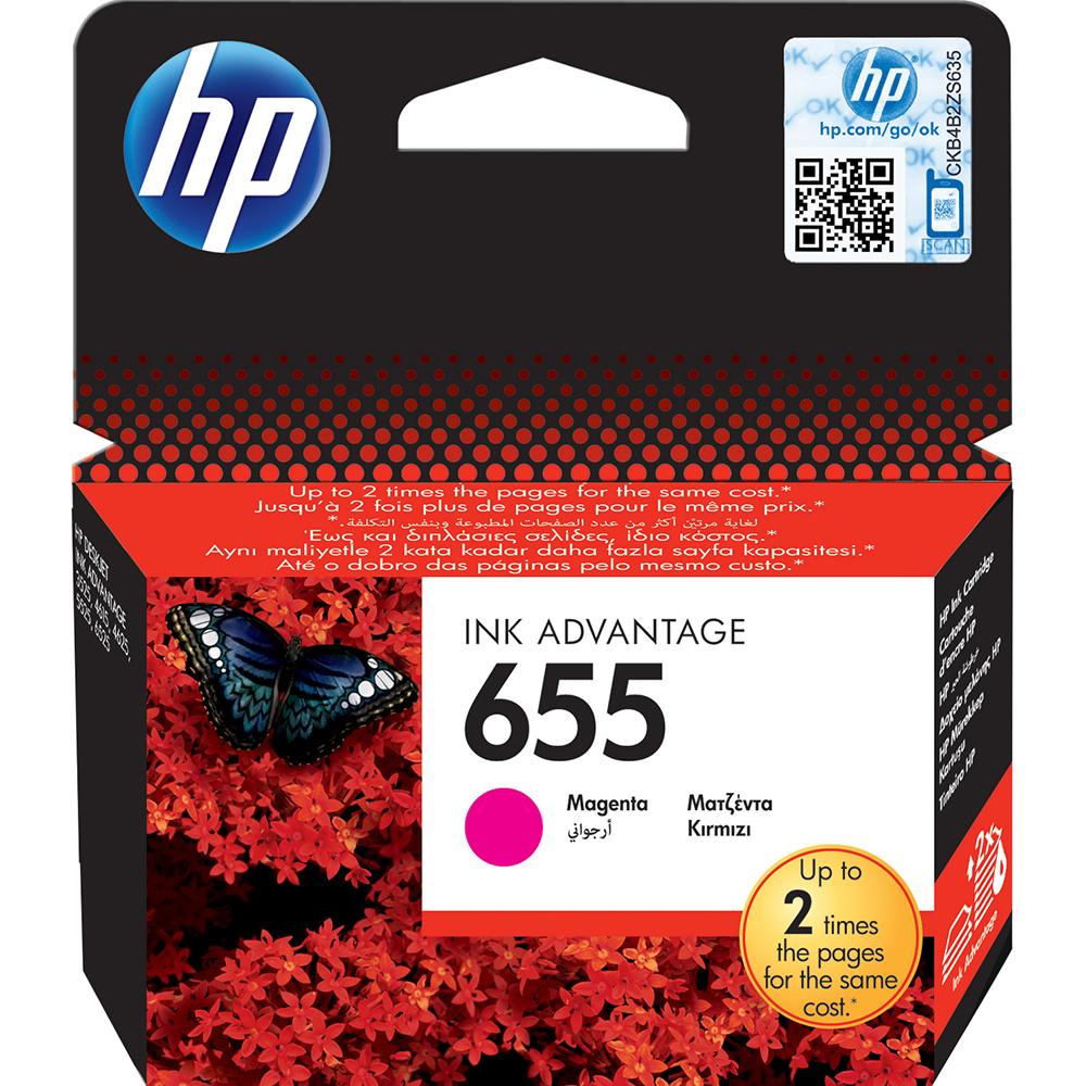 Фото - Картридж HP 655 (CZ111AE) Magenta картридж hp q6471a