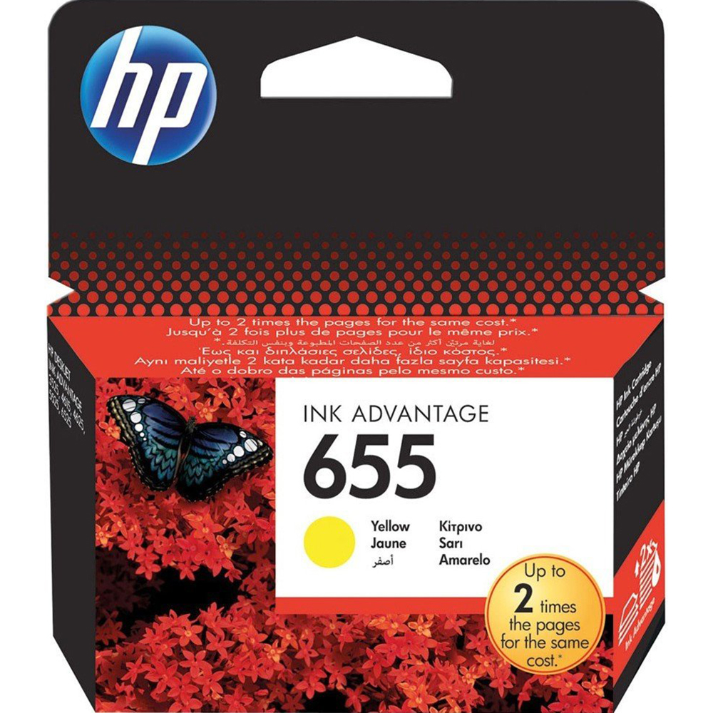Фото - Картридж HP 655 (CZ112AE) Yellow картридж hp q6471a