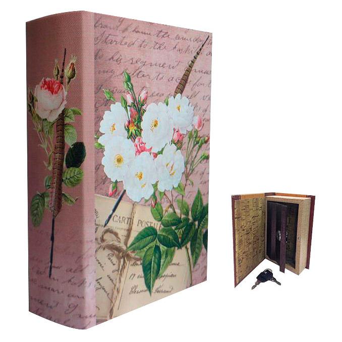 Фото - Шкатулка-сейф Белые розы Феникс-Презент 17х11х5 см шкатулка сейф цветочки феникс презент 17х11х5 см