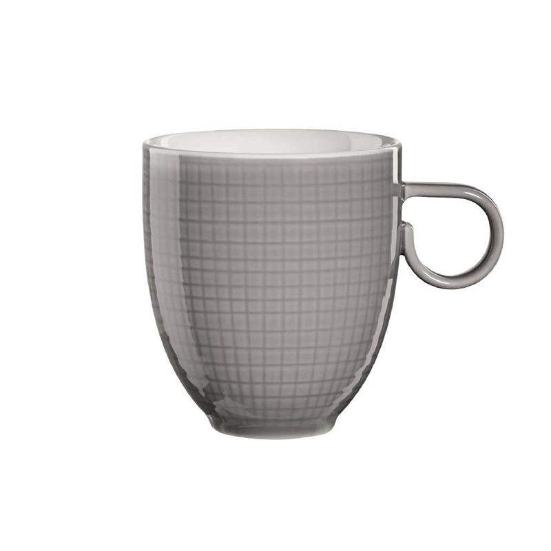 Фото - Кружка 0.3л Серая Asa selection чашка с блюдцем 210мл серый asa selection