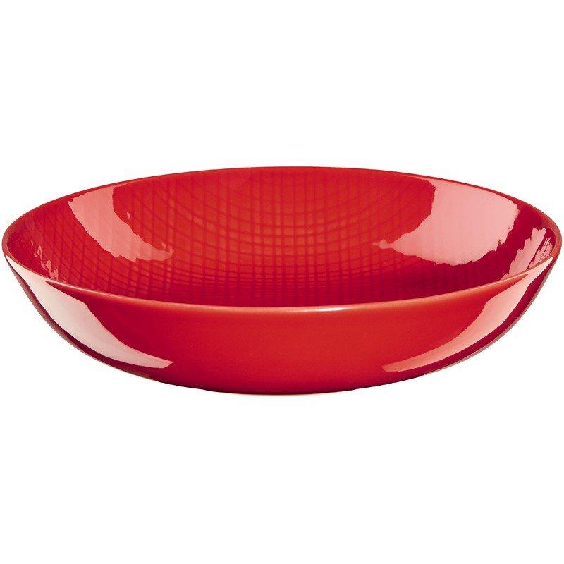 Фото - Тарелка для супа Asa Selection Voyage Красная 20 см емкость для масла asa selection grande 0 25л