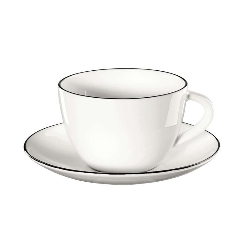 Фото - Чашка с блюдцем 210 мл Asa selection чашка с блюдцем 210мл серый asa selection