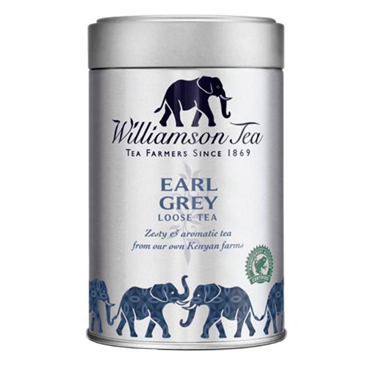 Чай Williams Earl Grey черный листовой с ароматом бергамота 100 г недорого