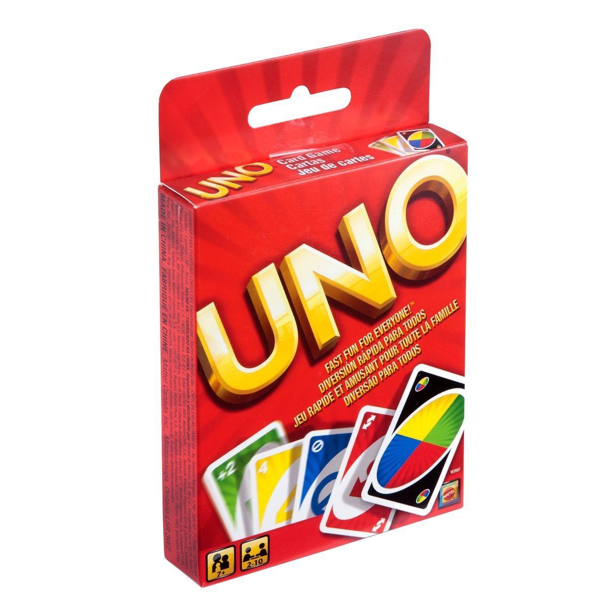Игра карточная Mattel Uno W2087