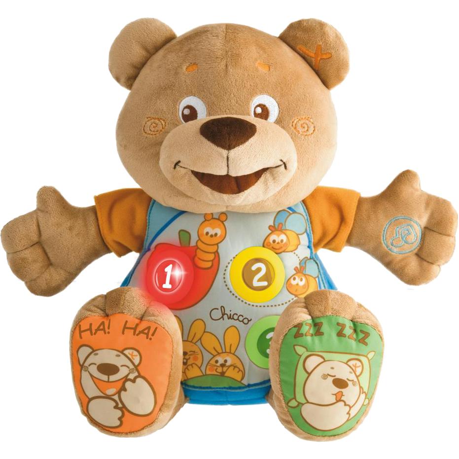 Игрушка Chicco Говорящий Мишка Тедди фото