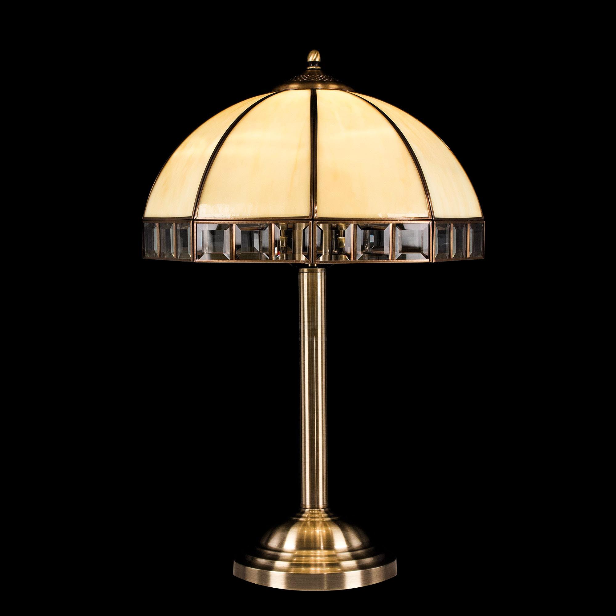 Настольный светильник Citilux Шербург-1 бронза старая бежевый CL440811 фото