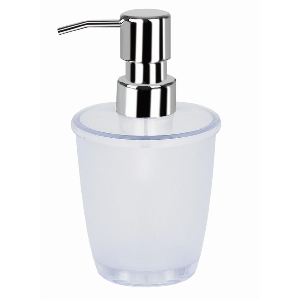 Фото - Дозатор для жидкого мыла Spirella белый дозатор для жидкого мыла spirella sydney серый 7х18 5 см