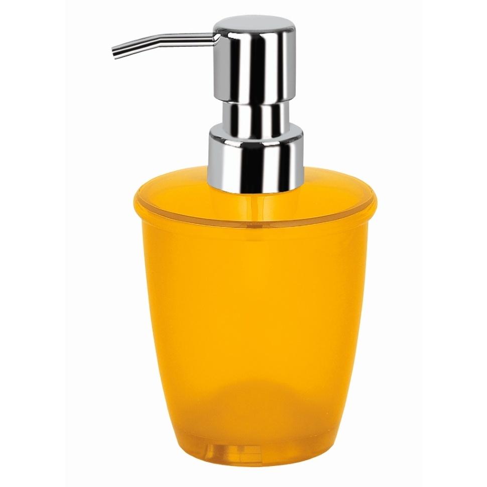 Дозатор для жидкого мыла Spirella оранжевый дозатор для жидкого мыла am pm like a8036900