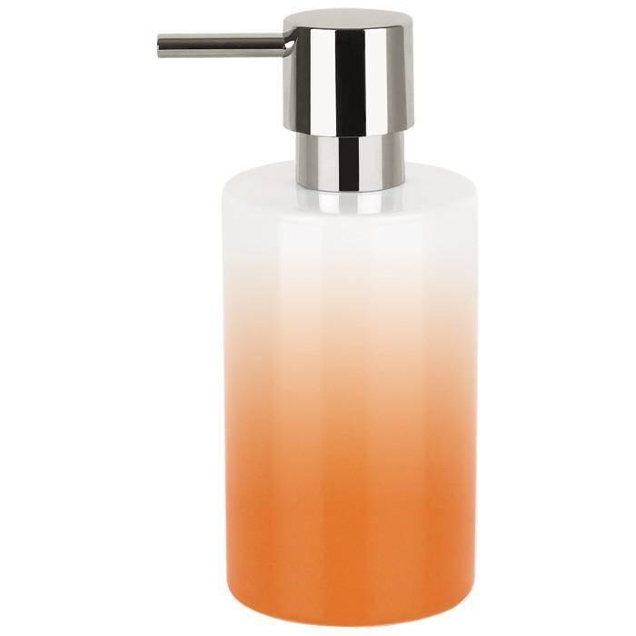 Дозатор для мыла Spirella Tube-Gradient оранжевый