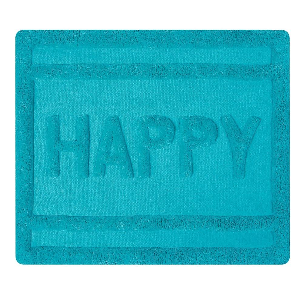 Фото - Коврик для ванны Spirella Happy бирюзовый 55x65 см коврик spirella highland 55x65 см песочный