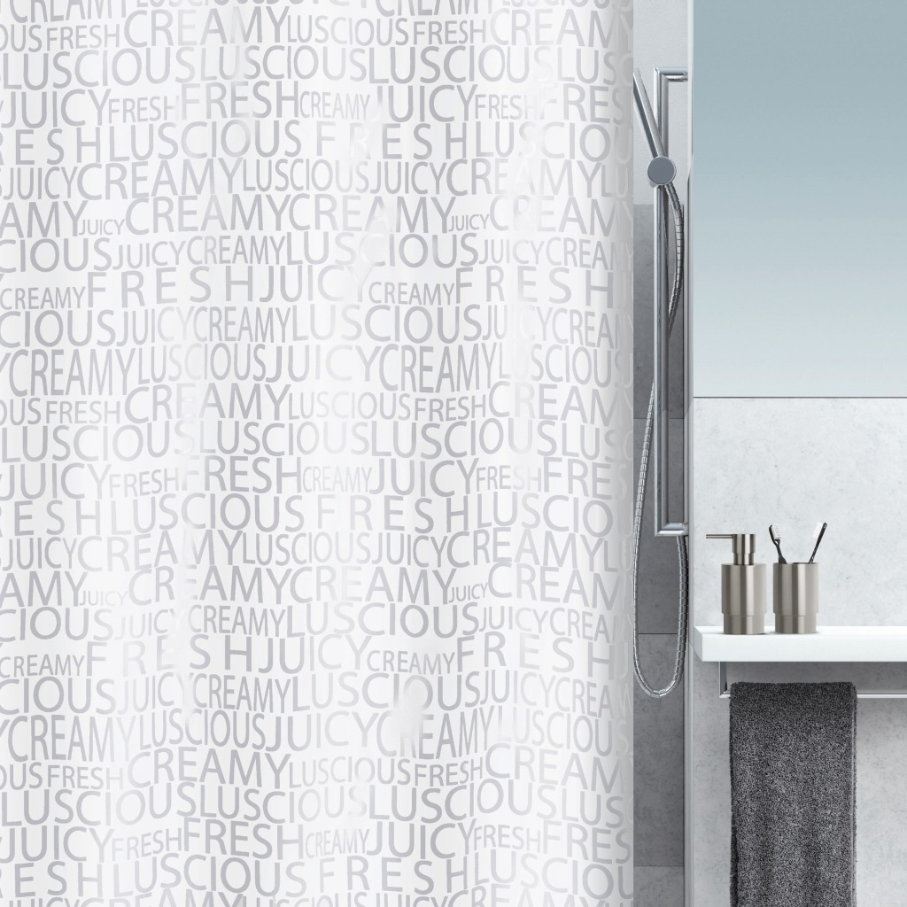 Штора для ванной Spirella Creamy 180х200 см штора для ванной joyarty слон и птица 180х200 sc 6079