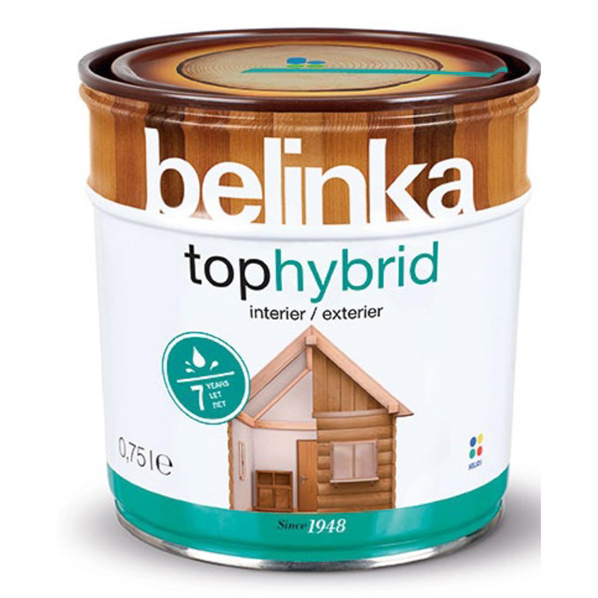 Фото - Пропитка Belinka tophybrid 0.75 темный орех пропитка belinka tophybrid 2 5 л 15 дуб