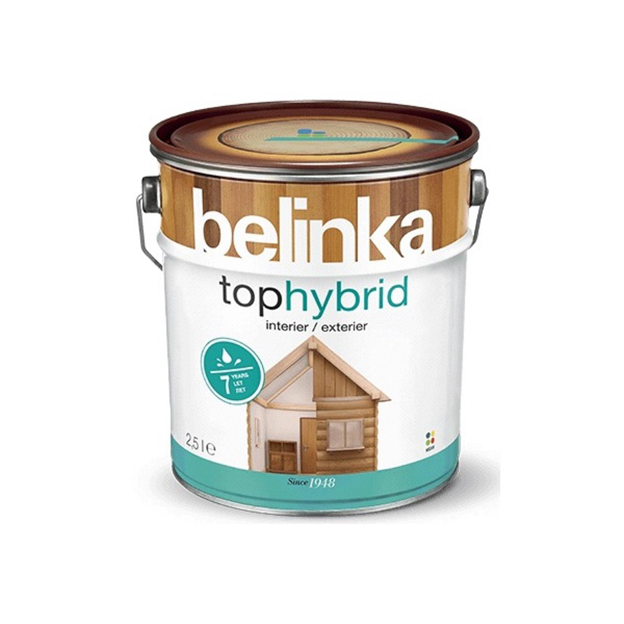 Фото - Пропитка Belinka tophybrid 2.5 темная листв пропитка belinka tophybrid 2 5 л 15 дуб