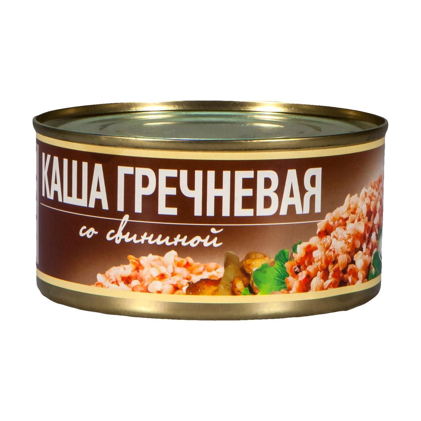 Фото - Каша гречневая Рузком со свининой 325 г плов рузком узбекский с говядиной 325 г