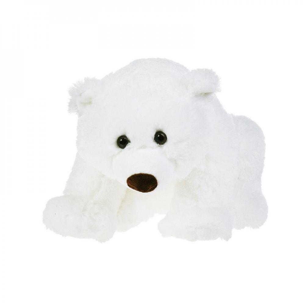 мягкая игрушка медведь choco сидячий в вязанной шапке с сердечками Мягкая игрушка Gulliver Медведь сидячий 43 см