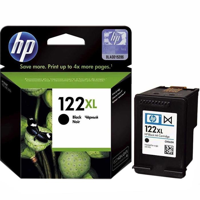 Фото - Картридж струйный HP 122XL CH563HE Black картридж cactus cs ch564 122xl для hp deskjet 1050 2050 2050s цветной