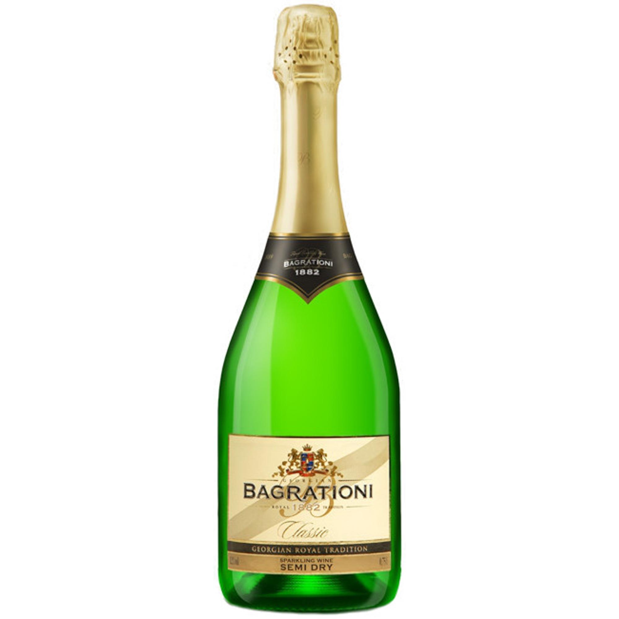 Игристое вино Bagrationi Classic Semi-dry 0,75 л