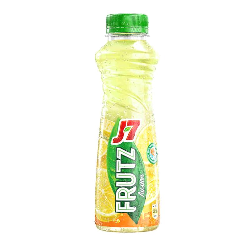 Фото - Напиток J7 Frutz сокосодержащий из лимонов с мякотью 385 мл j7