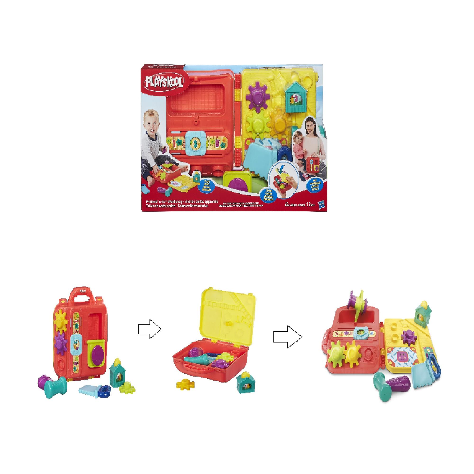 Купить Игрушка HASBRO PLAYSKOOL Моя первая мастерская возьми с собой, Китай, Игрушки для новорожденных