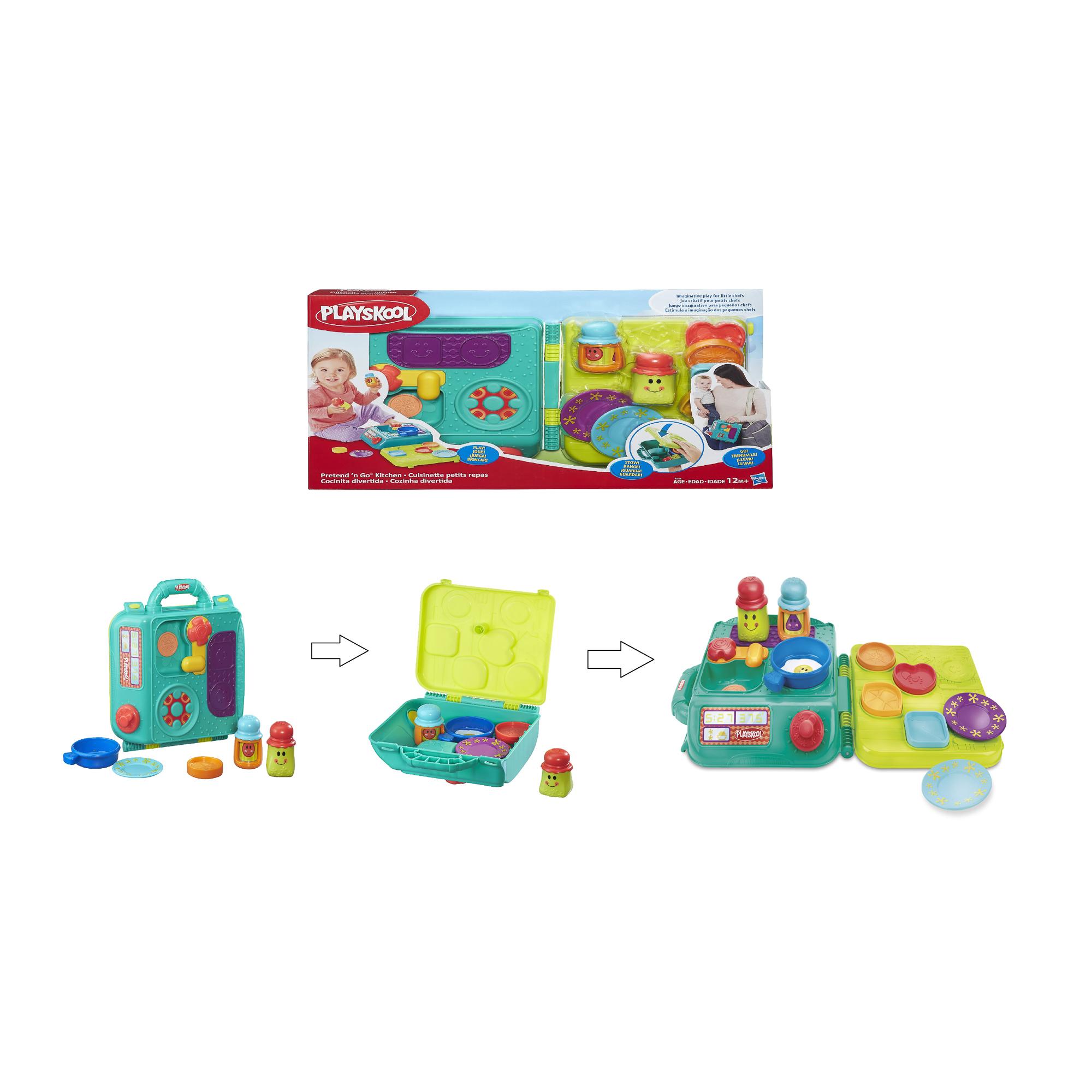 Купить Игрушка HASBRO PLAYSKOOL Моя первая кухня возьми с собой, Китай, Игрушки для новорожденных