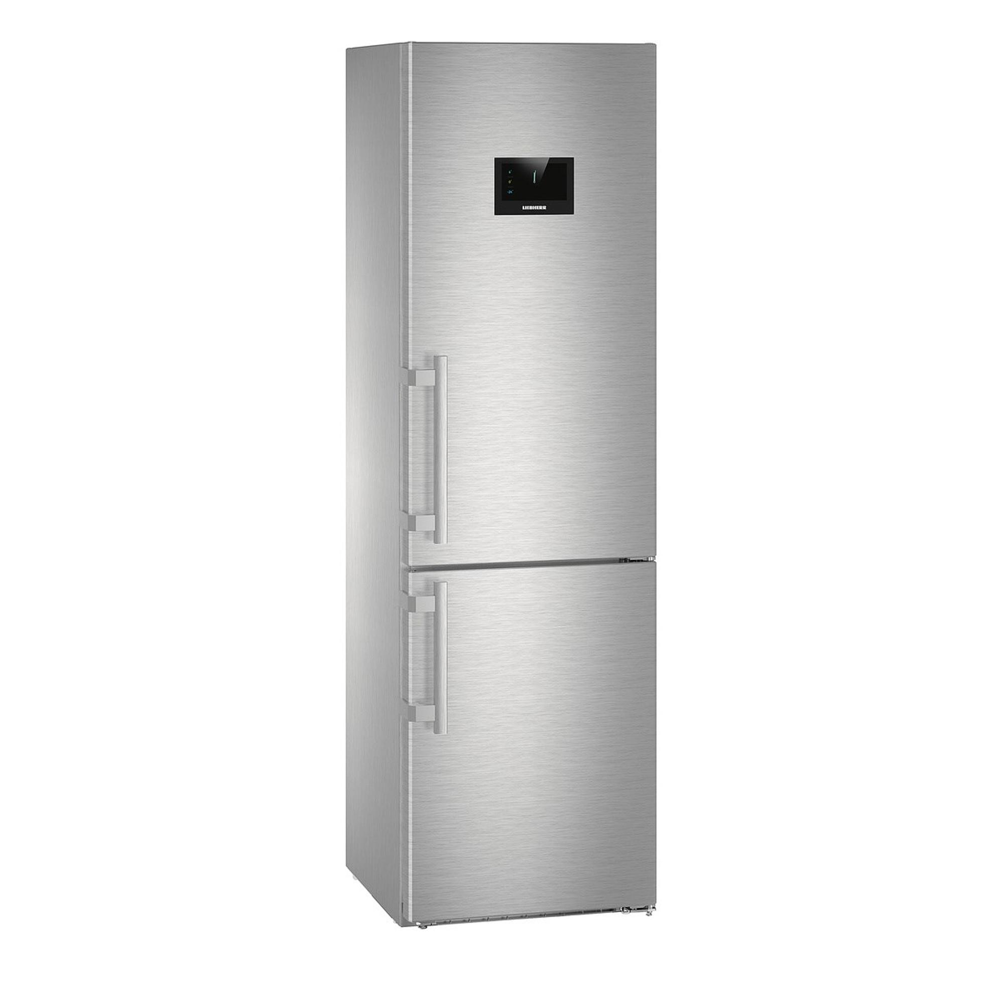 Купить Холодильник Liebherr CBNPES 4858 Silver, холодильник двухкамерный, Германия