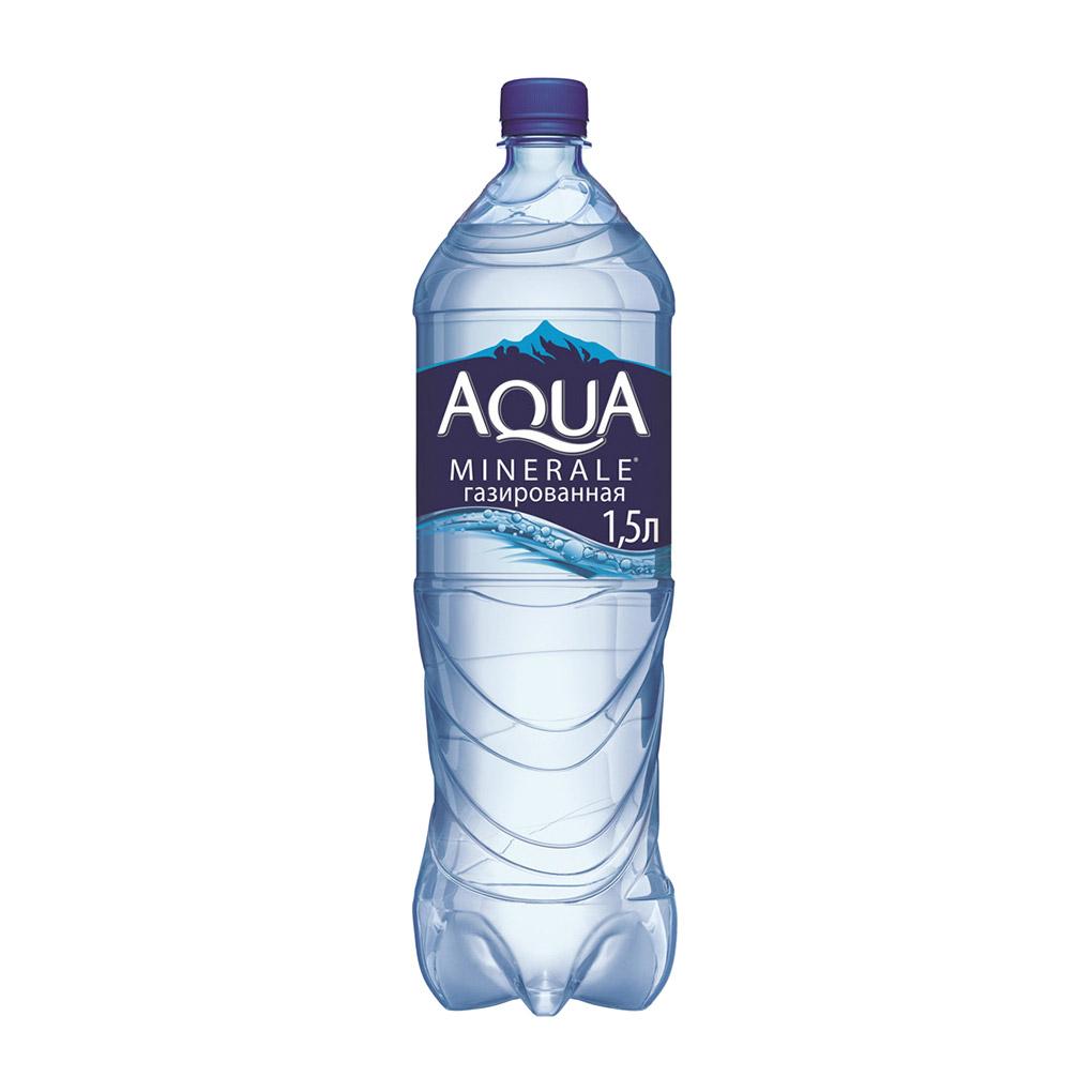 Фото - Вода питьевая Aqua Minerale газированная 1,5 л вода aqua minerale малина 500 мл