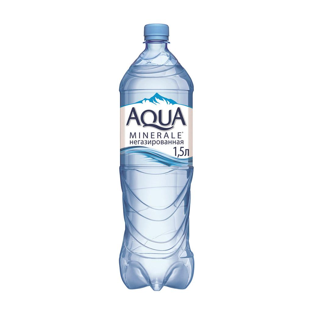 Фото - Вода питьевая Aqua Minerale негазированная 1,5 л вода питьевая aqua minerale негазированная 2 л
