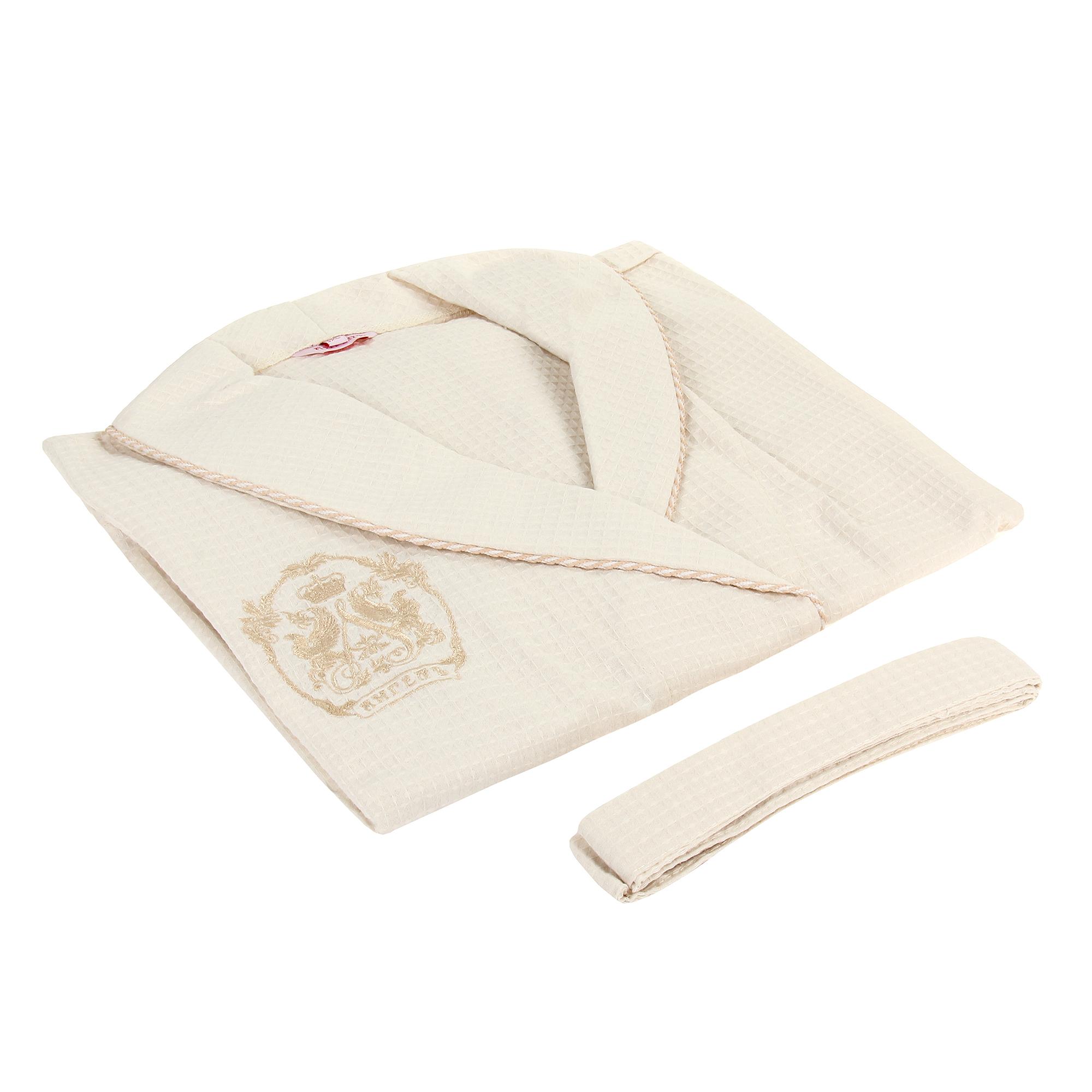 Халат вафельный женский Xl +полотенце 50х100 Больше чем покупка