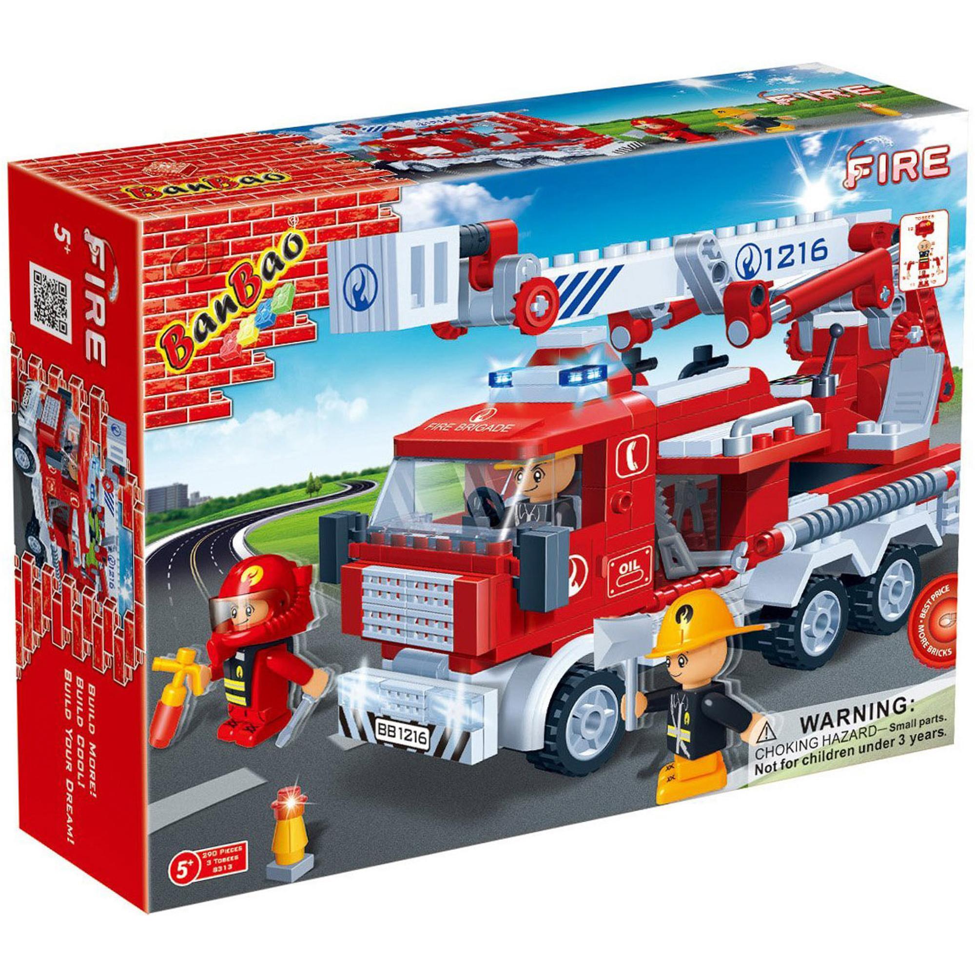 Конструктор Banbao Большая пожарная машина 8313 фото