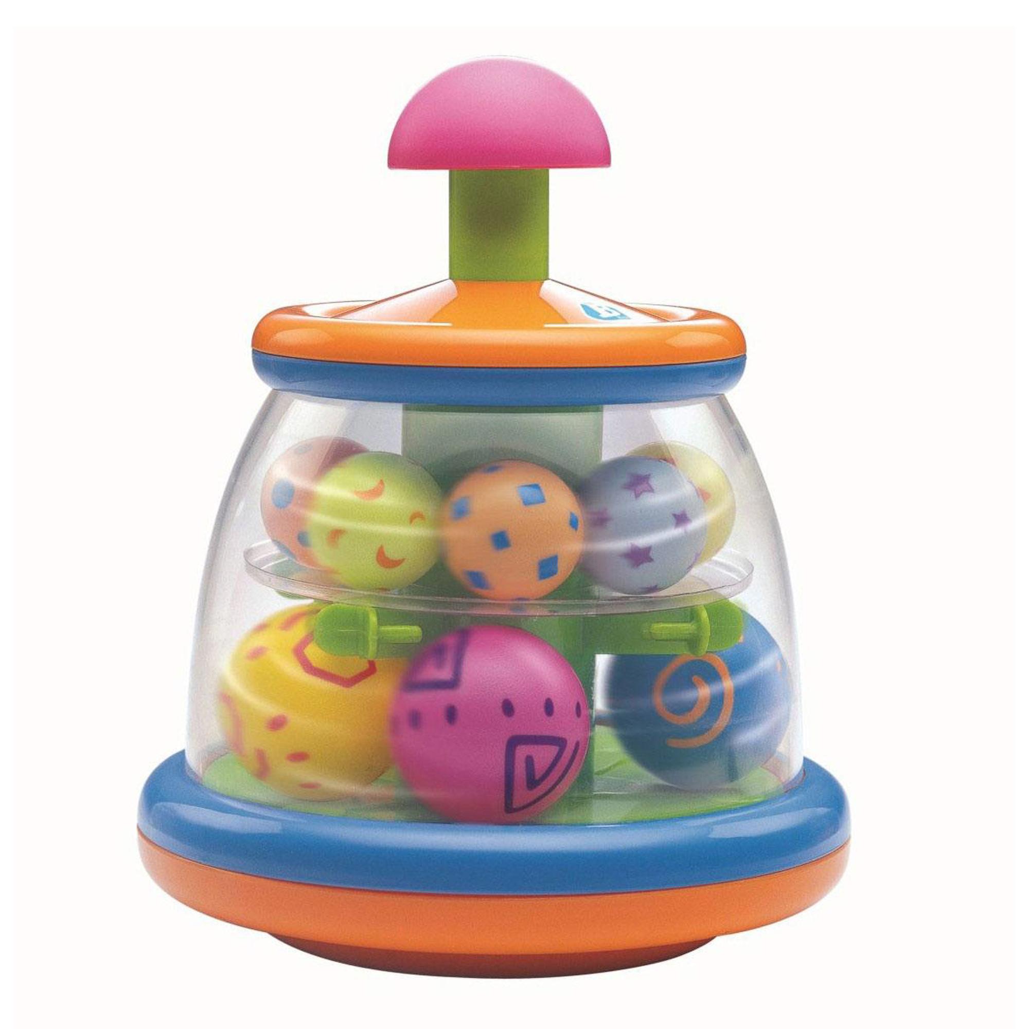 Купить Игрушка Bkids Юла с шариками, Китай, полипропилен, пластик, Настольные игры