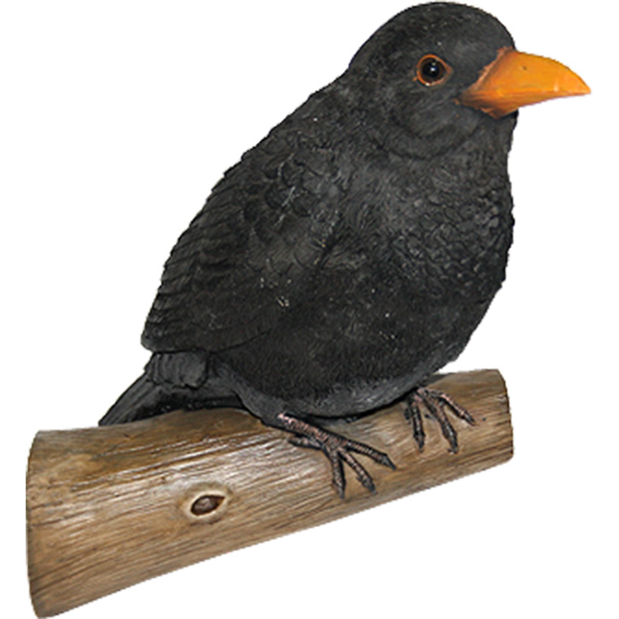 Фигура садовая Навесная ворона на ветке н-2 Тпк полиформ