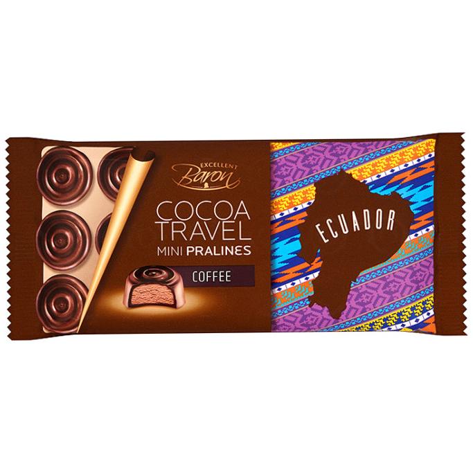 Фото - Конфеты шоколадные Baron Ecuador с кофейной начинкой 100 г ремень baron baron mp002xm1k38x