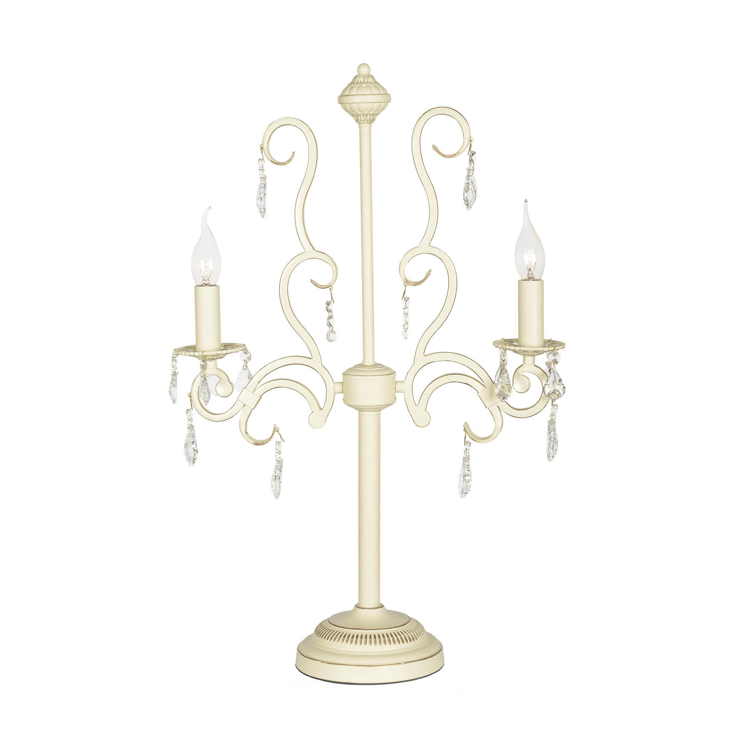 Лампа настольная хрустальная Arti Lampadari GIOIA E 4.2.602 CG настольная лампа arti lampadari gioia e 4 3 602 cg