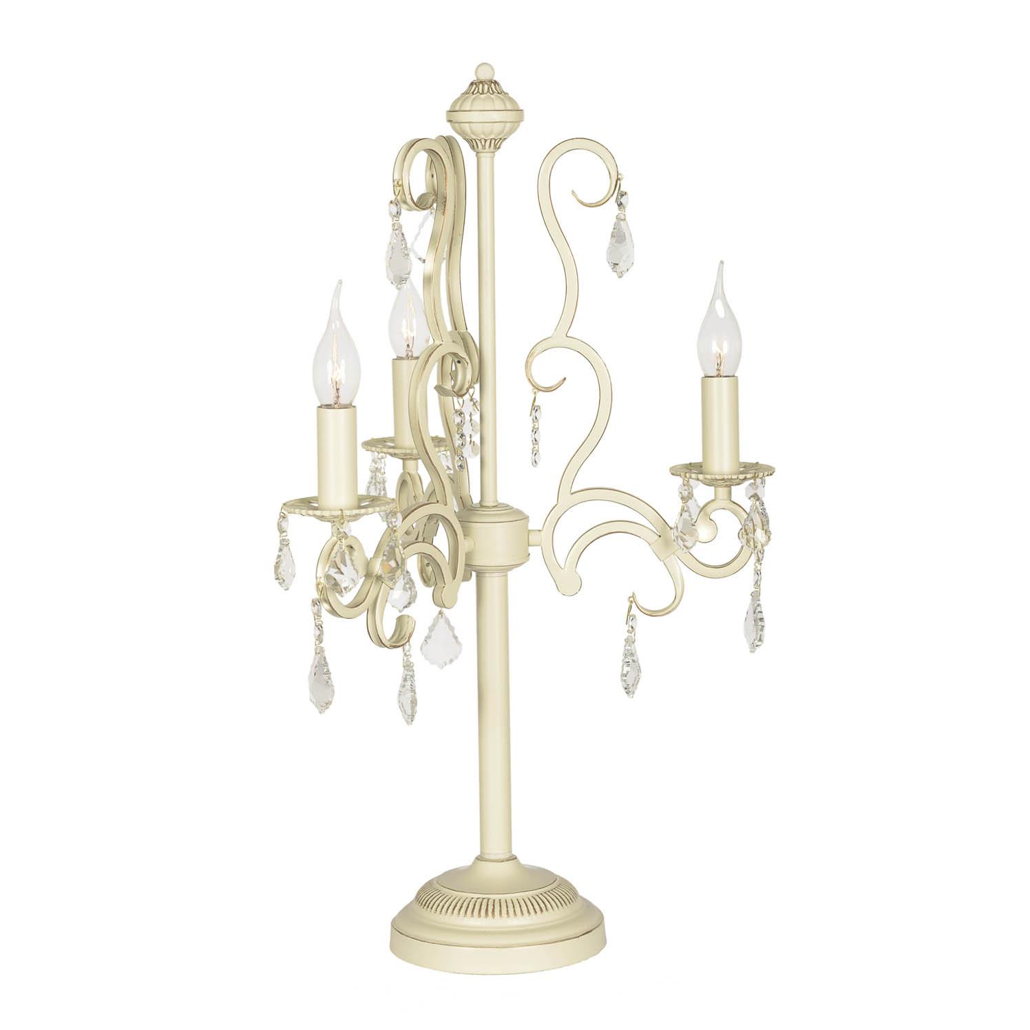 Лампа настольная хрустальная Arti Lampadari GIOIA E 4.3.602 CG настольная лампа arti lampadari gioia e 4 3 602 cg