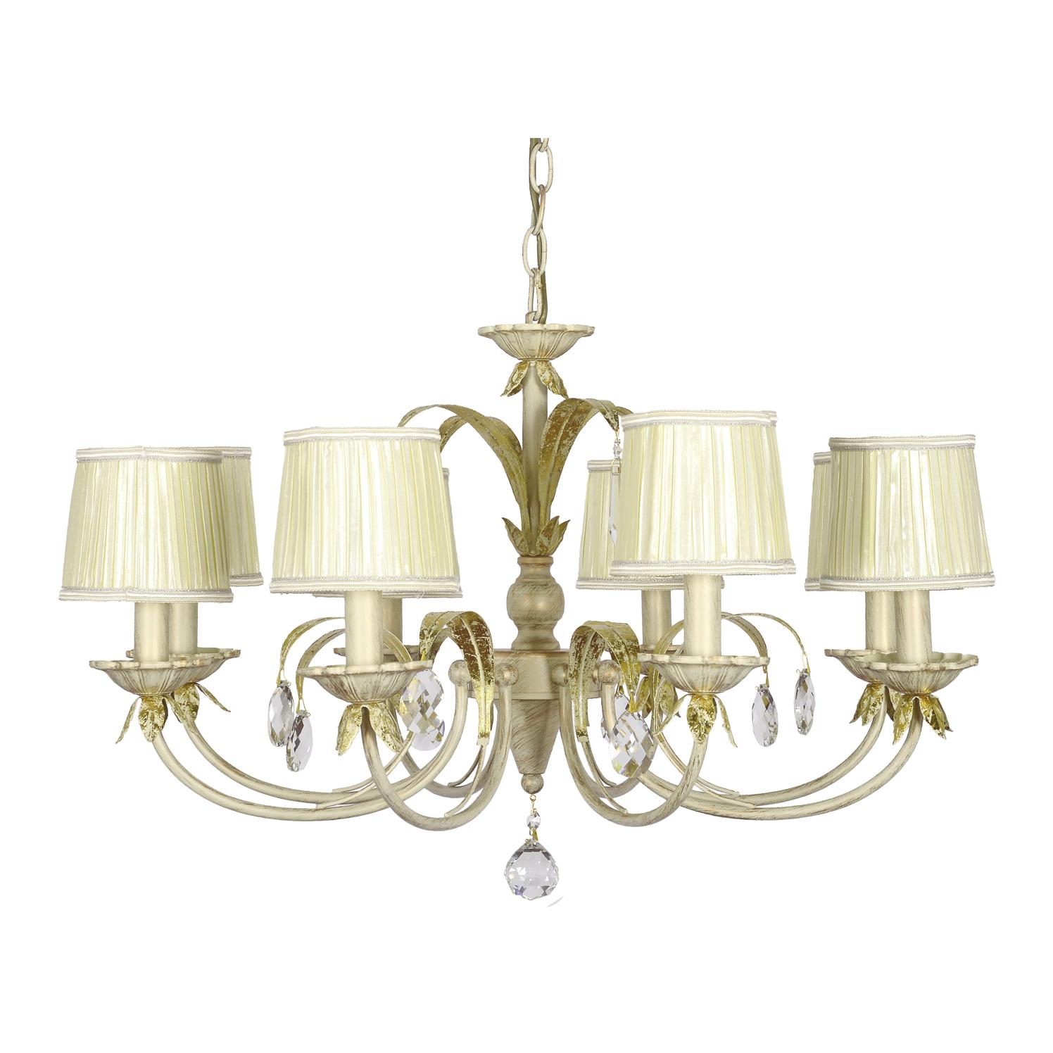 Фото - Люстра классика на цепиArti Lampadari GALERA E 1.1.8 CG люстра arti lampadari roana e 1 1 8 cg e14 320 вт