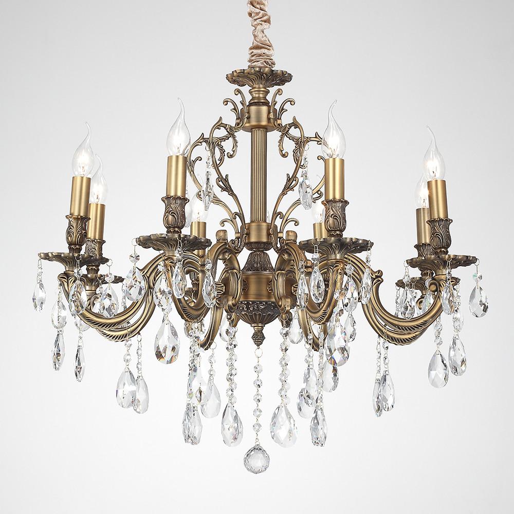 Люстра подвесная Lucia Tucci BARLETTA 1730.8 antique люстра подвесная lucia tucci barletta 1730 8 coffe gold
