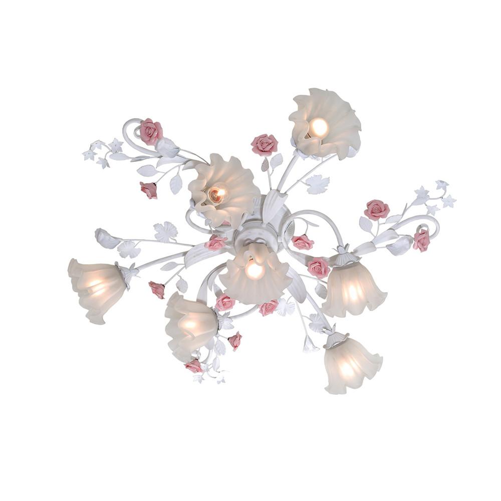 Люстра потолочная Lucia Tucci Fiori di rose 109.6.1
