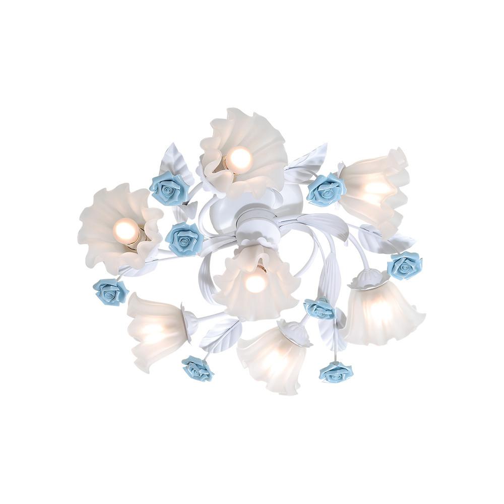 Люстра потолочная Lucia Tucci Fiori di rose 112.6.1