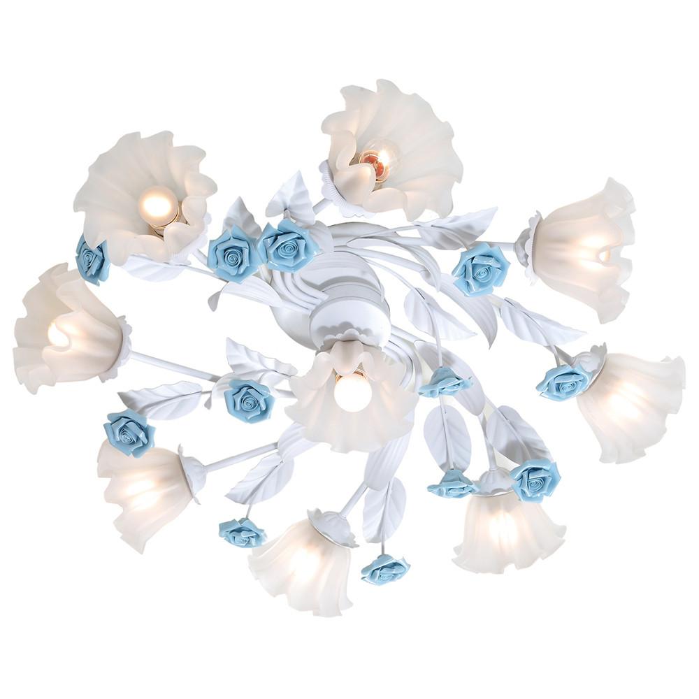 Люстра потолочная Lucia Tucci Fiori di rose 112.8.1
